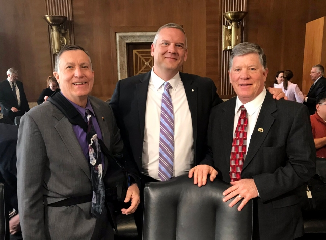 3.27.2019 Buschatzke, Entsminger and Tyrrell at Senate hearing